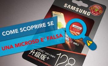 Come verificare se una scheda MicroSD / SD è falsa