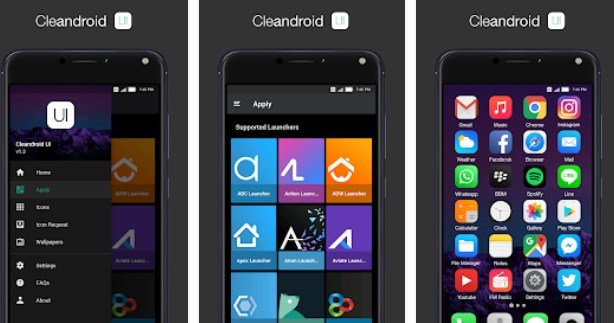 download icone Cleandroid UI