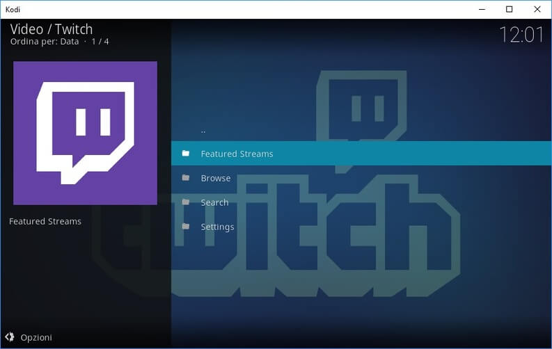 Kodi Twitch TV