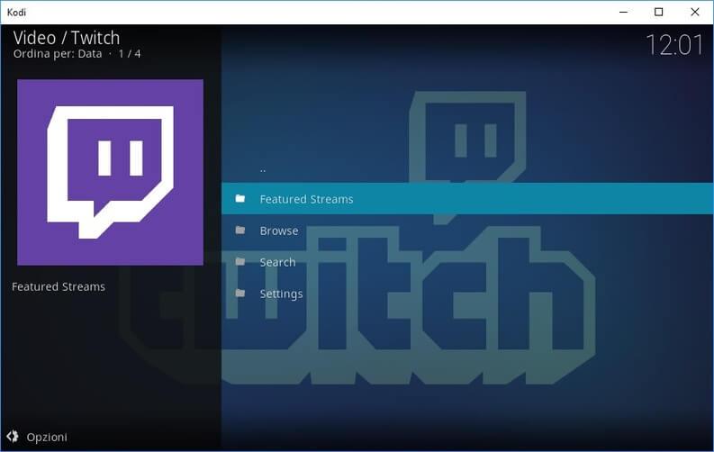 Kodi Twitch TV