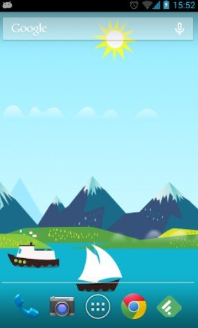 Mountains Now Free Live Wallpaper