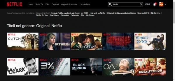 Netflix Originali