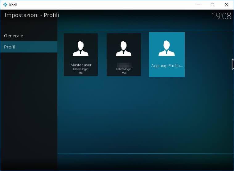 Profili Kodi