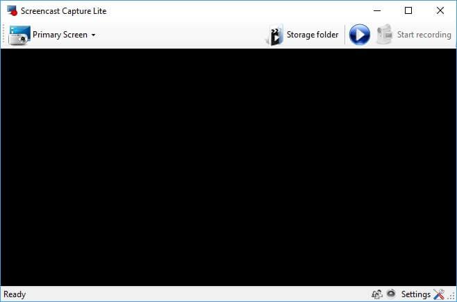 Screencast Capture Lite registrare
