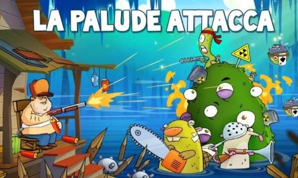 Giochi gratis offline - Swamp Attack