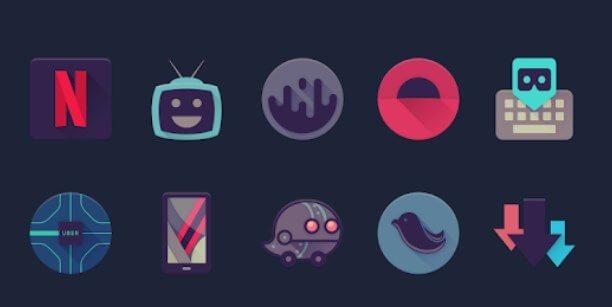 Viral alternativa alle icone predefinite su smartphone