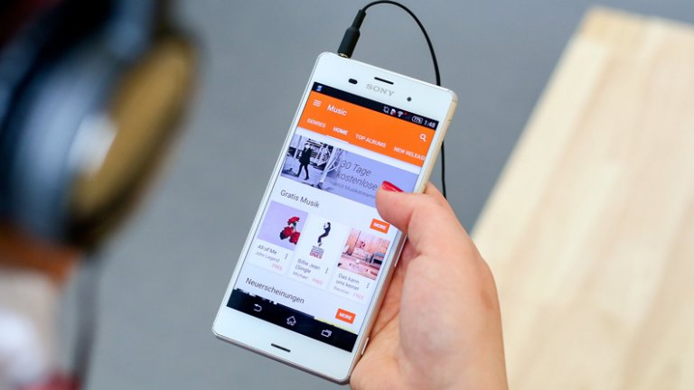 Scarica musica gratis tramite App su smartphone