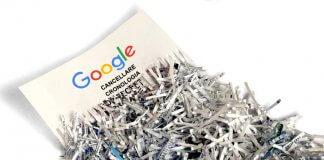 come cancellare cronologia google