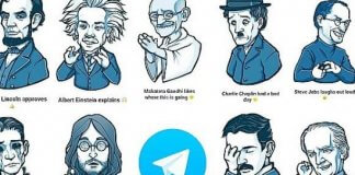 stickers per telegram