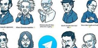 stickers per telegram