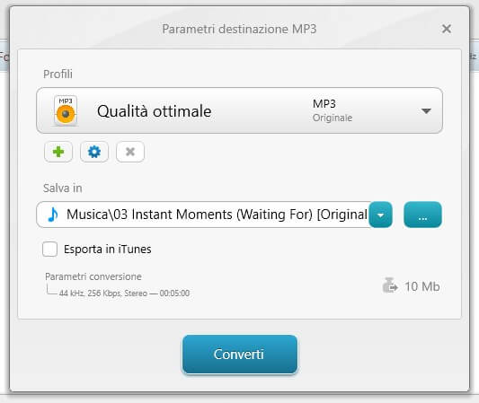 Convertitore MP3 su PC