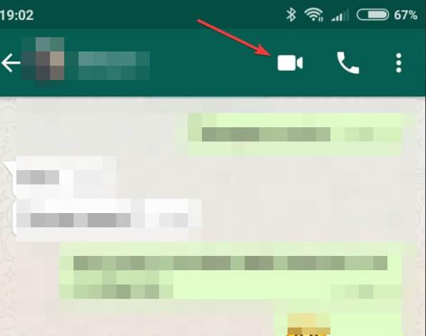 come videochiamare con WhatsApp