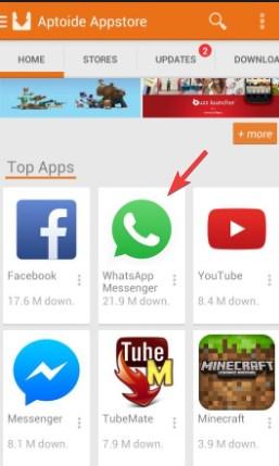 apk app WhatsApp Aptoide