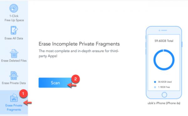 dati di app di terze parti come eliminarli