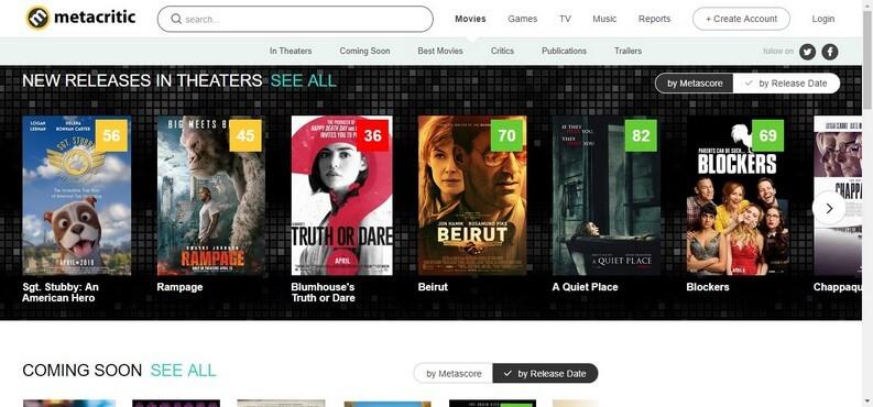 review Movie Metacritic