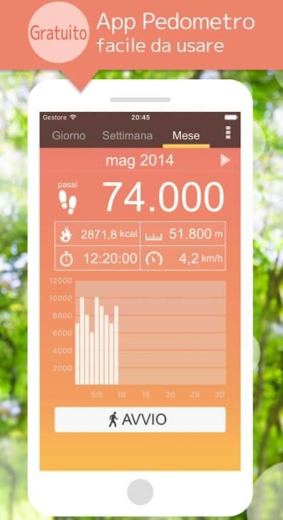 Pedometro - App