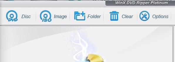 Funzioni per trasformare un DVD in immagine