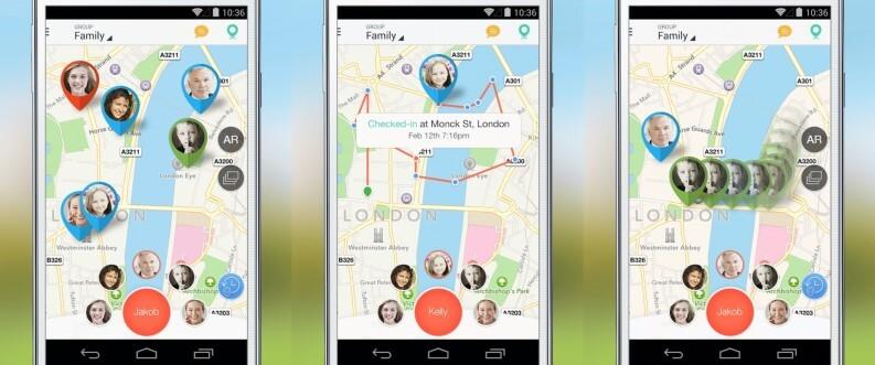 Sapere dove si trova una persona: Family locator app