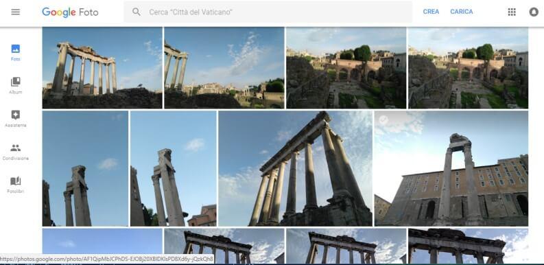 Google foto PC