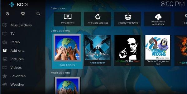 Vedere in streaming i canali Mediaset all'estero: KLTV Kodi