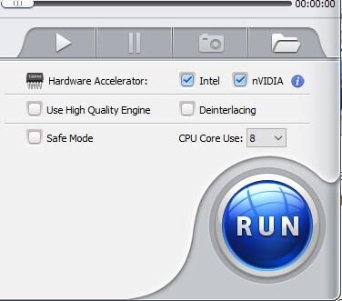 Opzioni avvio per accelerazione hardware