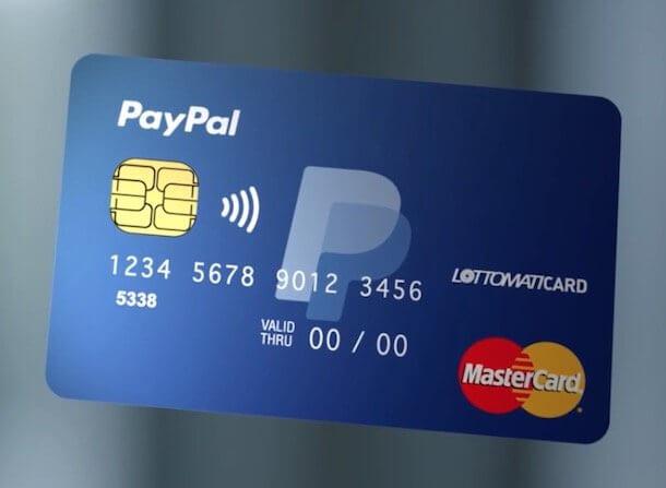 PayPal: carta