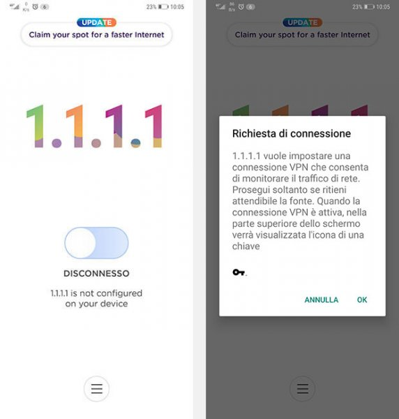cloudflare app 1111