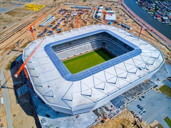 Kaliningrad Stadium di Kaliningrad