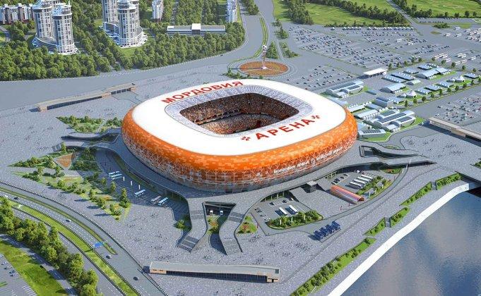 Mordovia Arena di Saransk