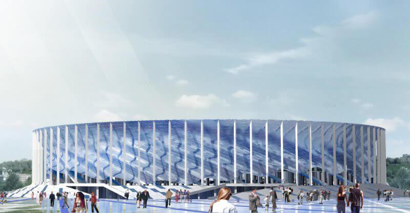Nizhny Novgorod Stadium di Nizhny Novgorod