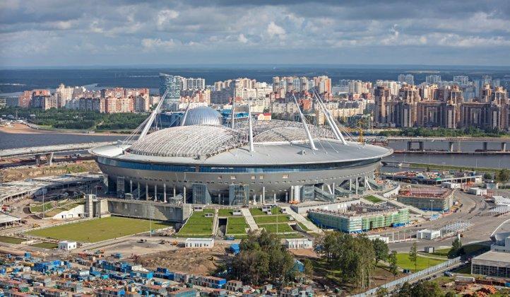 Saint Petersburg Stadium di San Pietroburgo