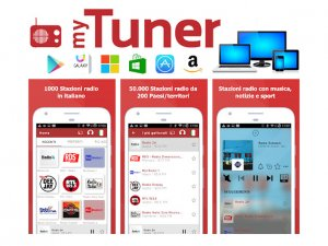 myTuner Radio: la migliore app radio per qualsiasi sistema o