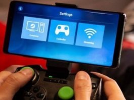 Steam link e giochi android