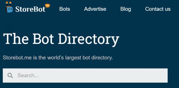 Telegram Bot Store