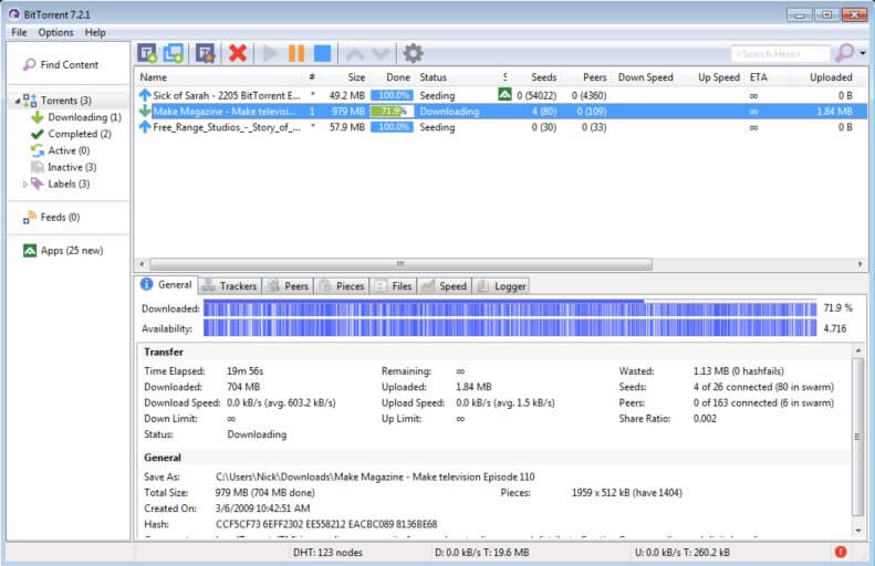 client torrent Bittorrent