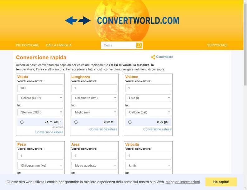 Convert World