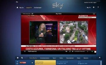 Come vedere Sky Go su Chromecast in TV