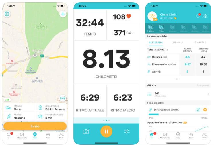 Runkeeper GPS Monitor di corsa