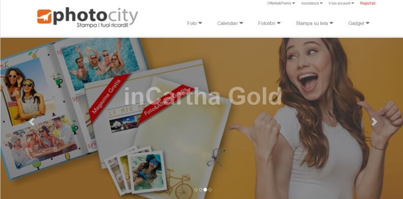 Stampare foto online photocity