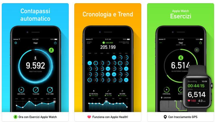 steps app contapassi pedometro