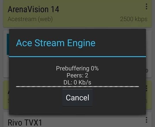 Ace Stream su Android