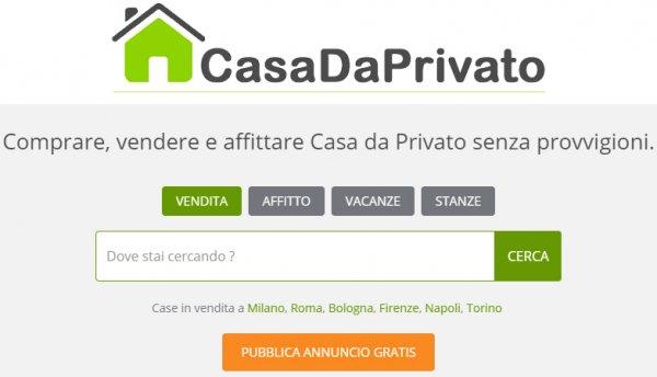 Migliori siti per cercare casa in vendita o affito da for Siti di arredamento casa