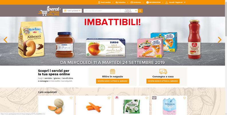 iperal spesa online