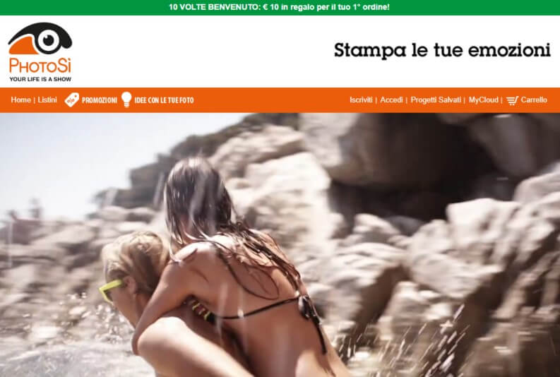 Stampa foto online PhotoSi