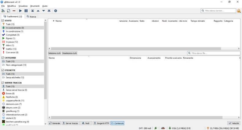 client torrent qBittorrent