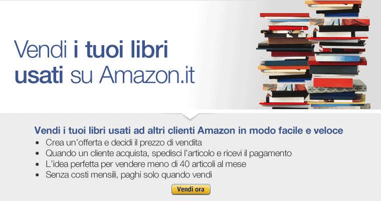 Amazon vendere libri usati