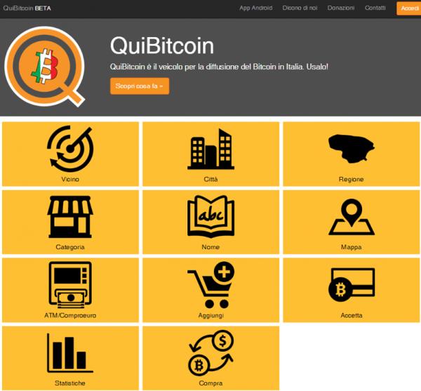 quibitcoin negozi online bitcoin
