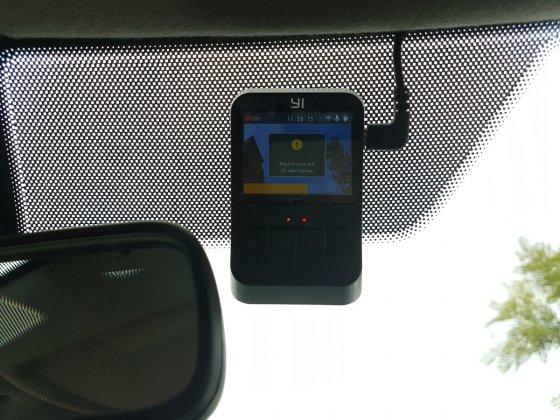 yi mini dash cam registrazione emergenza