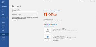 Attivare Microsoft Office