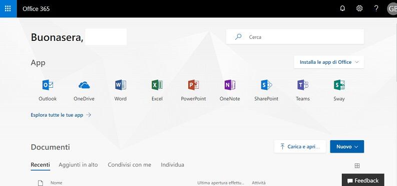 Attivare Microsoft Office per studenti